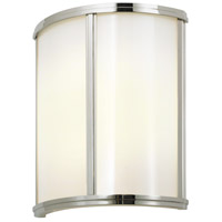Meridian 2 Light 10 inch Polished Nickel ADA Sconce Wall Light