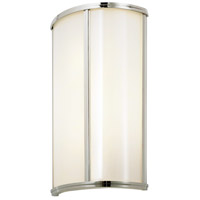 Sonneman 1991.35 Meridian 4 Light 10 inch Polished Nickel ADA Sconce Wall Light