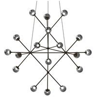 Sonneman 2084.37K Proton LED 40 inch Polished Black Nickel Pendant Ceiling Light