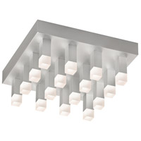 Sonneman Connetix 16 Light Pendant in Bright Satin Aluminum 2122.16