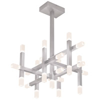 Sonneman Connetix 25 Light Pendant in Bright Satin Aluminum 2135.16