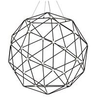 Sonneman 2170.37C Constellation LED 45 inch Polished Black Nickel Pendant Ceiling Light