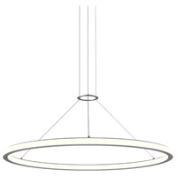 Sonneman Sonata 20 Light Pendant in Bright Satin Aluminum 2233.16