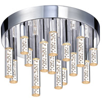 Sonneman Champagne Staccato 10 Light Pendant in Chrome 2261.01