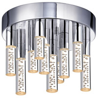 Sonneman Champagne Staccato 16 Light Pendant in Chrome 2262.01
