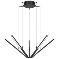 Sonneman Starflex Pendant in Satin Black 2300.25