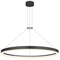 Sonneman Corona Pendant in Satin Black 2317.25