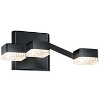 Sonneman Lattice Sconce in Satin Black 2320.25C