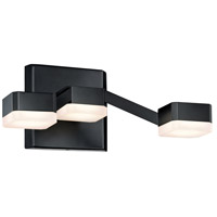 Sonneman Lattice Sconce in Satin Black 2320.25W