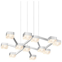 Sonneman Lattice Pendant in Bright Satin Aluminum 2326.16C