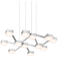 Sonneman Lattice Pendant in Bright Satin Aluminum 2326.16W