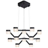 Sonneman Lattice Pendant in Satin Black 2326.25C