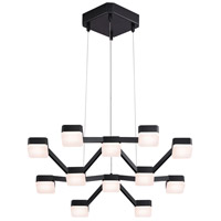 Sonneman Lattice Pendant in Satin Black 2326.25W