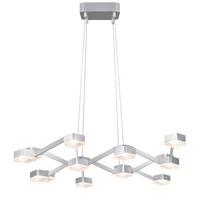 Sonneman Lattice Pendant in Bright Satin Aluminum 2328.16C