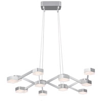 Sonneman Lattice Pendant in Bright Satin Aluminum 2328.16W