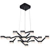 Sonneman Lattice Pendant in Satin Black 2328.25C
