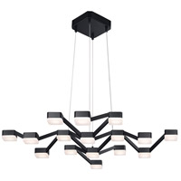 Sonneman Lattice Pendant in Satin Black 2328.25W