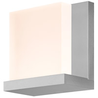 Sonneman Glow Sconce in Bright Satin Aluminum 2350.16
