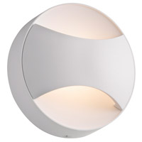 Toma LED 5 inch Textured White ADA Sconce Wall Light