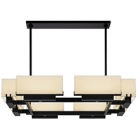 Sonneman Aspen 8 Light LED Square Pendant in Black Brass 2468.51