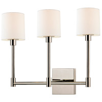 Sonneman Embassy 3 Light LED Sconce in Polished Nickel 2473.35