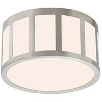 Sonneman 2524.13 Capital LED 9 inch Satin Nickel Surface Mount Ceiling Light