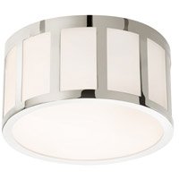 Sonneman Capital 9-inch LED Round Surface Mount in Polished Nickel 2524.35