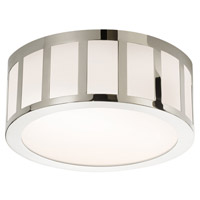 Sonneman Capital 12-inch LED Round Surface Mount in Polished Nickel 2525.35