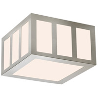 Sonneman 2527.13 Capital LED 8 inch Satin Nickel Surface Mount Ceiling Light