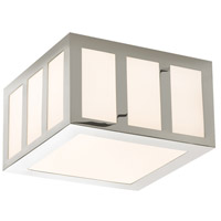 Sonneman Capital 8-inch LED Square Surface Mount in Polished Nickel 2527.35