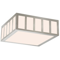 Sonneman 2528.13 Capital LED 13 inch Satin Nickel Surface Mount Ceiling Light