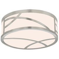 Haiku LED 12 inch Satin Nickel Surface Mount Ceiling Light