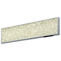 Sonneman 2560.01 Dazzle LED 18 inch Polished Chrome Bath Bar Wall Light