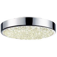 Dazzle LED 8 inch Polished Chrome Surface Mount Ceiling Light