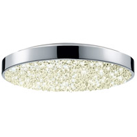 Dazzle LED 12 inch Polished Chrome Surface Mount Ceiling Light