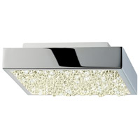 Dazzle LED 6 inch Polished Chrome Surface Mount Ceiling Light