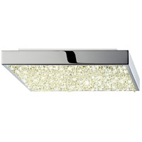 Dazzle LED 10 inch Polished Chrome Surface Mount Ceiling Light