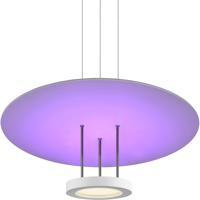 Sonneman 2600.03 Chromaglo Spectrum LED 22 inch Satin White Pendant Ceiling Light