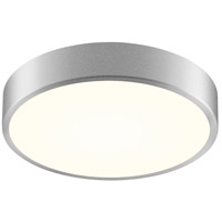 Pi LED 12 inch Bright Satin Aluminum Surface Mount Ceiling Light