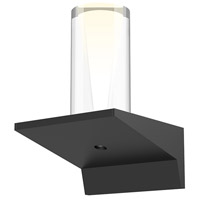 Sonneman 2850.25-SC Votives LED 4 inch Satin Black ADA Wall Sconce Wall Light