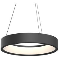 Tromme LED 24 inch Satin Black Pendant Ceiling Light