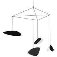 Sonneman 2902.25K Papillons LED 31 inch Satin Black Pendant Ceiling Light