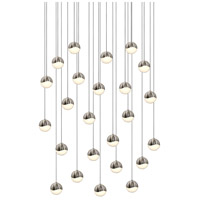 Sonneman Grapes 24 Light LED Cluster Pendant in Satin Nickel 2918.13-SML