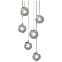 Champagne Bubbles LED 12 inch Polished Chrome Pendant Ceiling Light