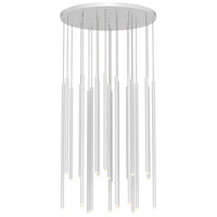 Sonneman 3019.03-AST Light Chimes LED 25 inch Satin White Pendant Ceiling Light