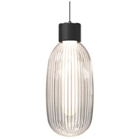 Sonneman 3101.25 Friso LED 7 inch Satin Black Pendant Ceiling Light
