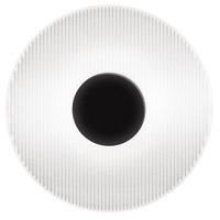 Sonneman 3110.25E Meclisse LED 9 inch Satin Black ADA Sconce Wall Light