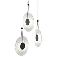 Sonneman Satin Black Meclisse Pendants