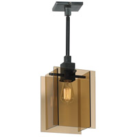 Sonneman Bronze Age 1 Light Pendant in Black Brass 3161.51