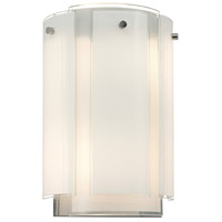 Velo 2 Light 8 inch Polished Chrome Sconce Wall Light